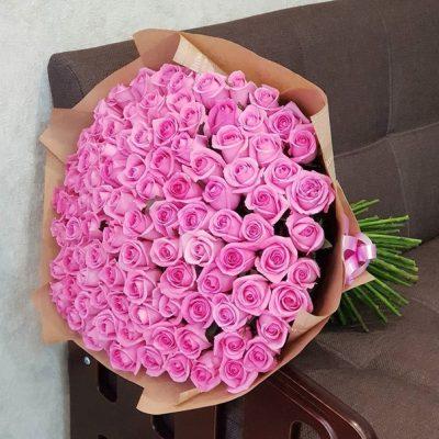 Букет Розовая Пантера