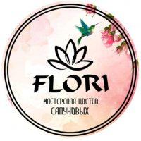Логотип Flori48-интернет магазин цветов